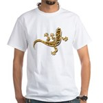 Cool Gecko 9 White T-Shirt