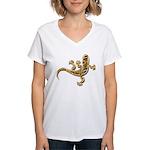 Cool Gecko 9 Women's V-Neck T-Shirt