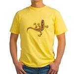 Cool Gecko 9 Yellow T-Shirt