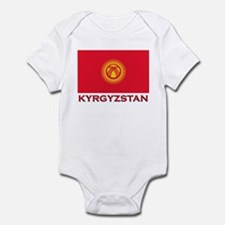 Kyrgyzstan Flag Merchandise Infant Bodysuit
