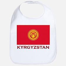Kyrgyzstan Flag Merchandise Bib