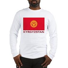 Kyrgyzstan Flag Merchandise Long Sleeve T-Shirt