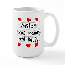Weston Loves Mommy and Daddy Mug