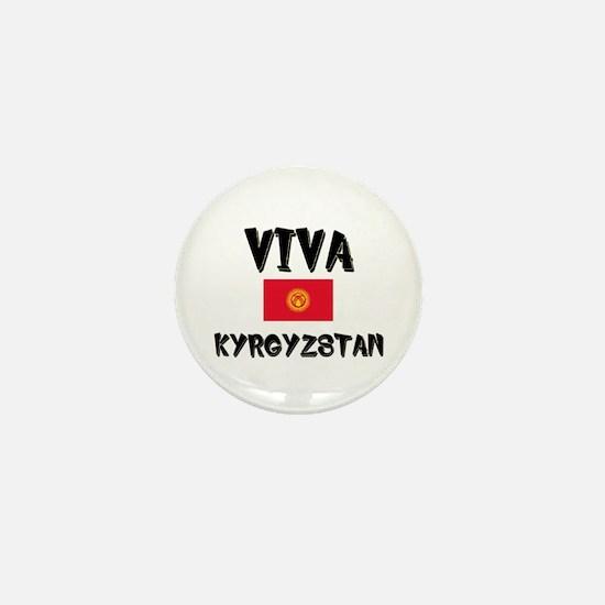 Viva Kyrgyzstan Mini Button