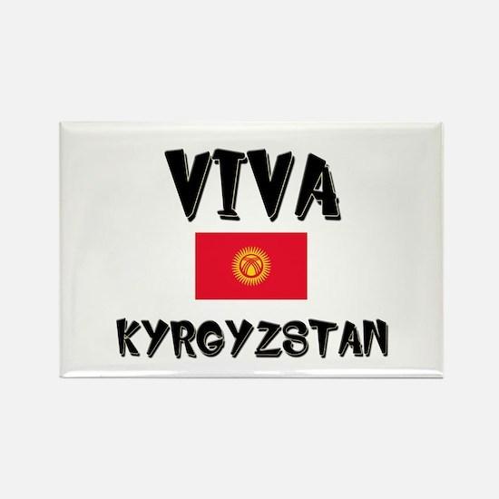 Viva Kyrgyzstan Rectangle Magnet