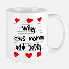 Wiley Loves Mommy and Daddy Mug