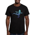 Cool Gecko 10 Men's Fitted T-Shirt (dark)