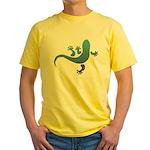 Cool Gecko 10 Yellow T-Shirt