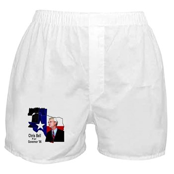 ChrisBell, TX GOV Boxer Shorts