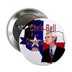 "ChrisBell, TX GOV 2.25"" Button (100 pack)"