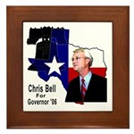 ChrisBell, TX GOV Framed Tile