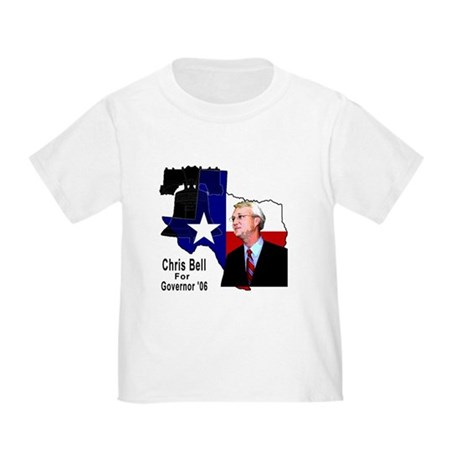 ChrisBell, TX GOV Toddler T-Shirt