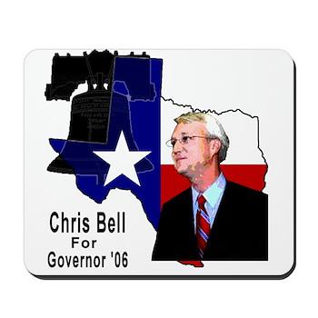 ChrisBell, TX GOV Mousepad