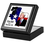 ChrisBell, TX GOV Keepsake Box