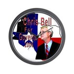ChrisBell, TX GOV Wall Clock