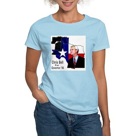 ChrisBell, TX GOV Women's Pink T-Shirt