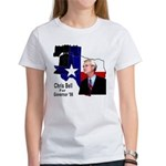 ChrisBell, TX GOV Women's T-Shirt