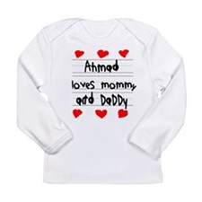 Ahmad Loves Mommy and Daddy Long Sleeve Infant T-S
