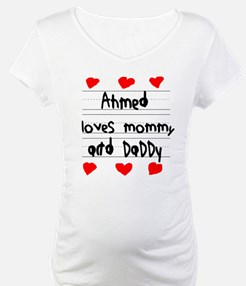 Ahmed Loves Mommy and Daddy Shirt
