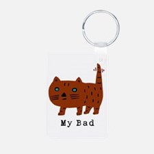 My Bad cat Keychains