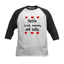 Aleshia Loves Mommy and Daddy Tee