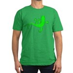 Cool Gecko 12 Men's Fitted T-Shirt (dark)