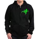 Cool Gecko 12 Zip Hoodie (dark)
