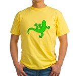 Cool Gecko 12 Yellow T-Shirt