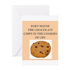 fort wayne Greeting Card