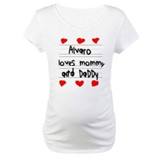 Alvaro Loves Mommy and Daddy Shirt