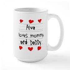 Alva Loves Mommy and Daddy Mug