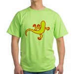 Cool Gecko 14 Green T-Shirt