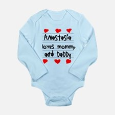 Anastasia Loves Mommy and Daddy Long Sleeve Infant