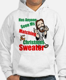 Matching Christmas Sweater Hoodie