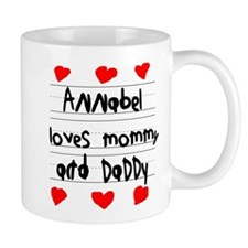 Annabel Loves Mommy and Daddy Mug