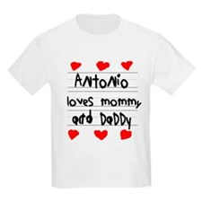 Antonio Loves Mommy and Daddy T-Shirt