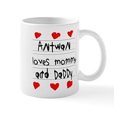 Antwan Loves Mommy and Daddy Mug