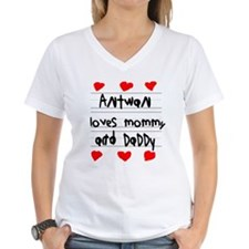 Antwan Loves Mommy and Daddy Shirt