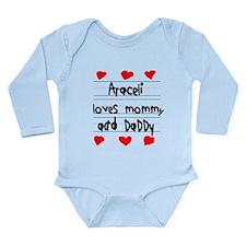 Araceli Loves Mommy and Daddy Long Sleeve Infant B