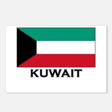 Kuwait Flag Gear Postcards (Package of 8)