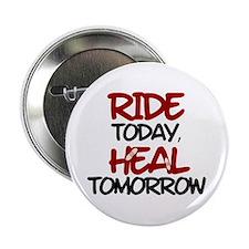 """'Heal Tomorrow' 2.25"""" Button"""
