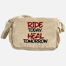 'Heal Tomorrow' Messenger Bag