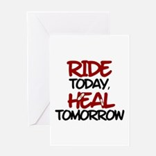 'Heal Tomorrow' Greeting Card