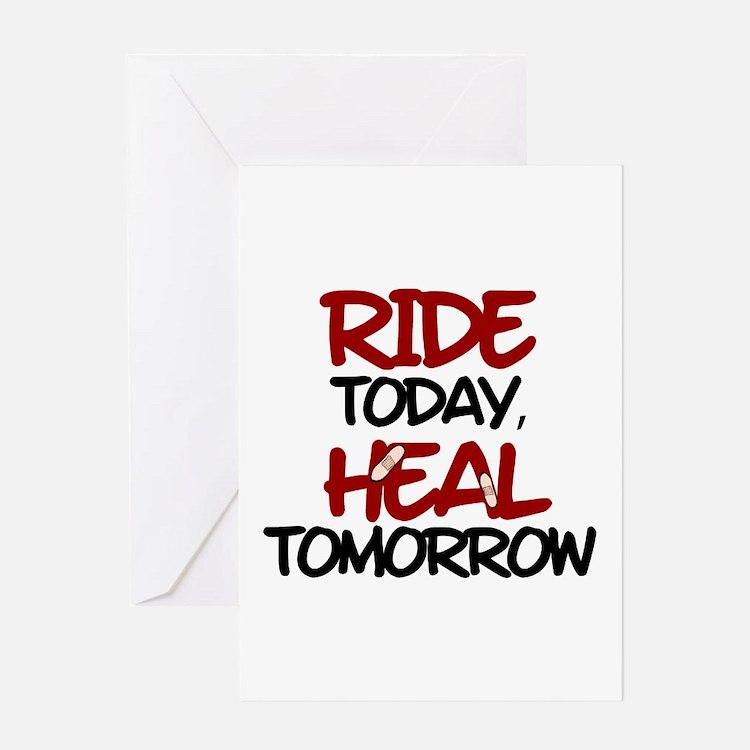'Heal Tomorrow' Greeting Card