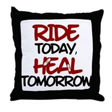 'Heal Tomorrow' Throw Pillow