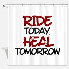'Heal Tomorrow' Shower Curtain