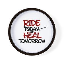 'Heal Tomorrow' Wall Clock
