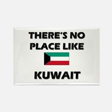 There Is No Place Like Kuwait Rectangle Magnet