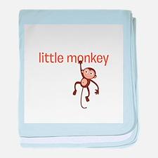Little Monkey baby blanket