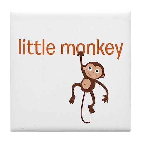 Little Monkey Tile Coaster